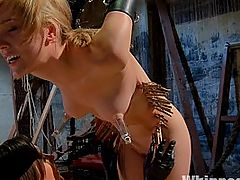 Gorgeous 19 Year Old Punished and Fist Fucked by Sinn Sage