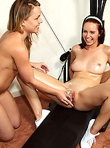 Hayden Winters Works Out Then Plays with Speculum - 11/30/2012