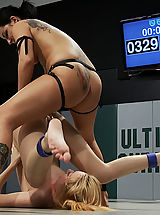 Sexual Wrestling Two hot rookies battle it out for their 1st winOne will win, one will get ass fucked for losing.