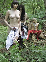 Black Lesbians, Carole Hunt and Jen Bailey and Samantha Bentley 2